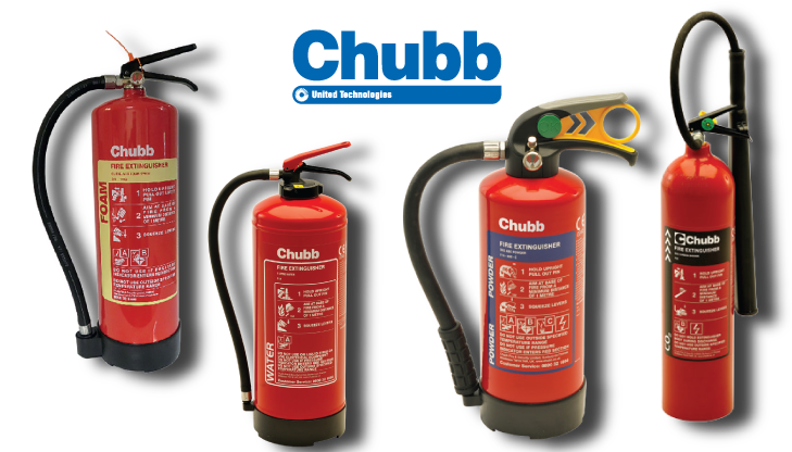 Fire Extinguisher Merk Chubb