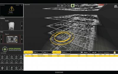 Open Graphic Navigator – Software 3D Building Management System